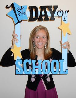 Teacher 1st day of School frame